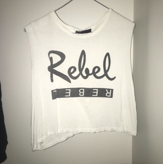 Rebel sleeveless top