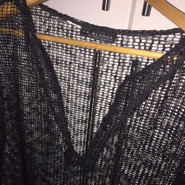 REDUCED Sequin Mesh Cover Up
