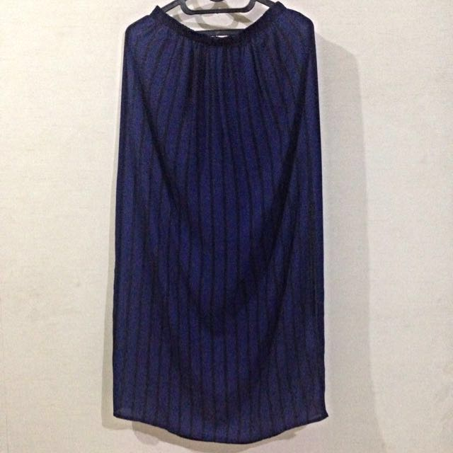 REPRICE - Forever 21 Long Stripes Skirt