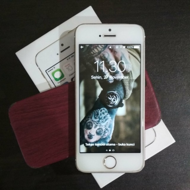 REPRICE iPhone 5s 16Gb Gold ex International 51520171cc
