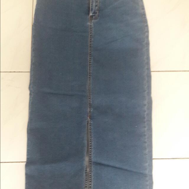 Rok Jeans Panjang Forever 21