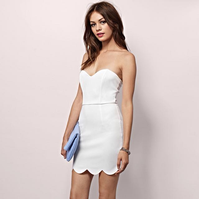 RRP $72 Brand New Tobi Dress Summer Nights Out In White