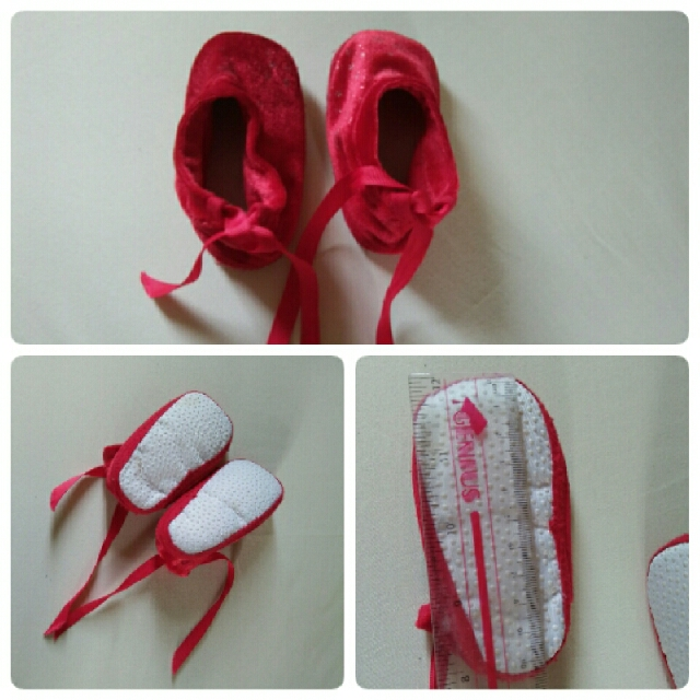 Rustan red shoes