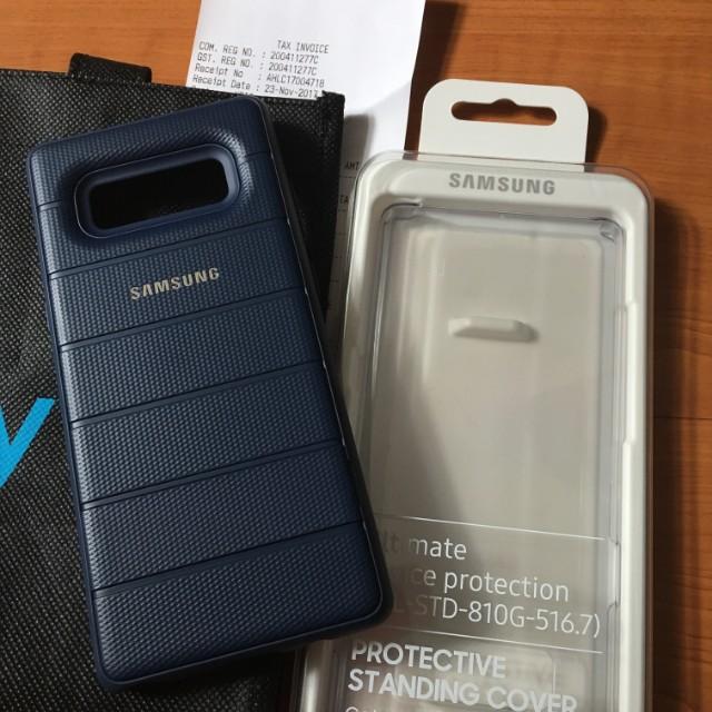 official photos f2f2d 5a5e8 Samsung Note 8 Original Tough Standing Cover Case