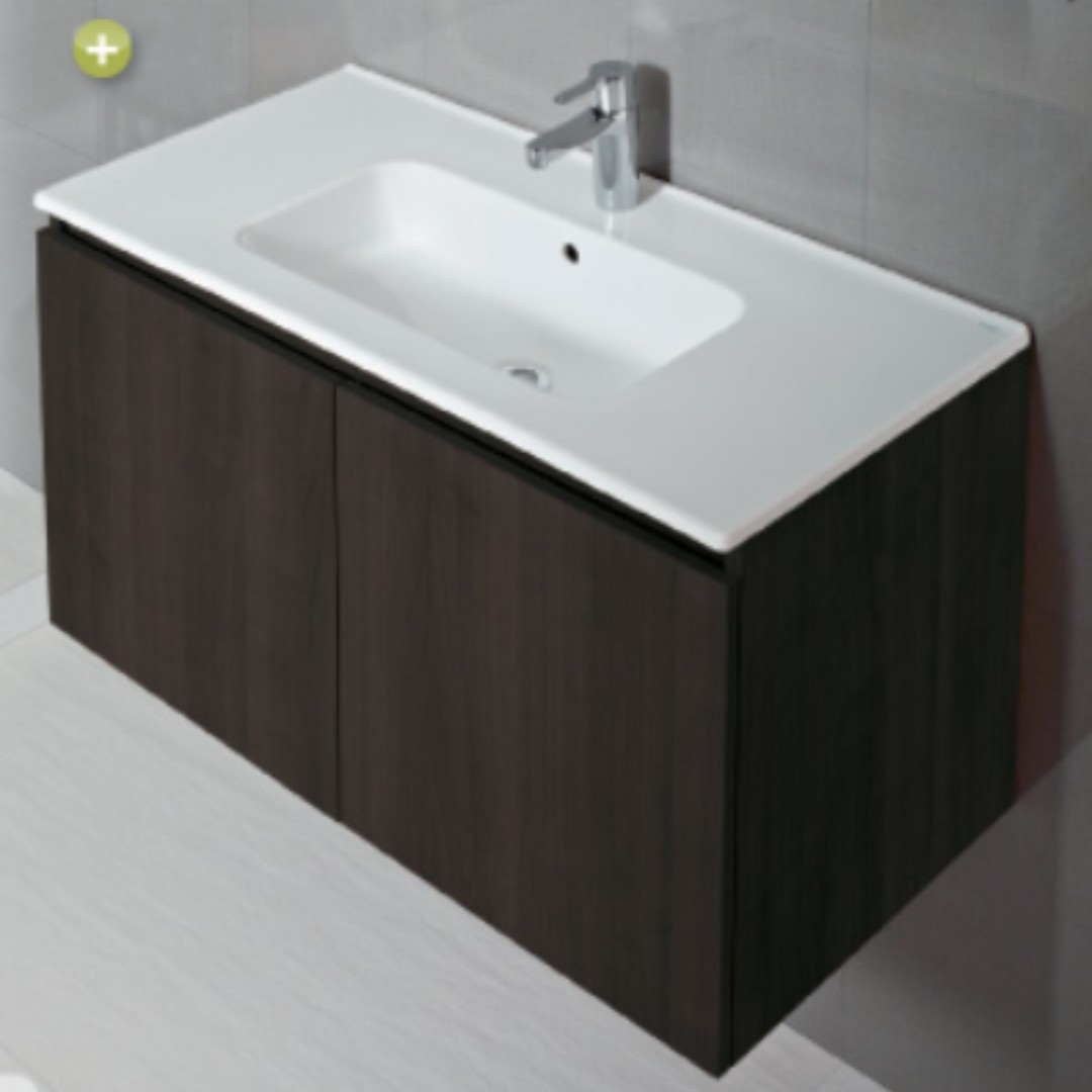 Sanitana COOL wall-hung cabinet basin set