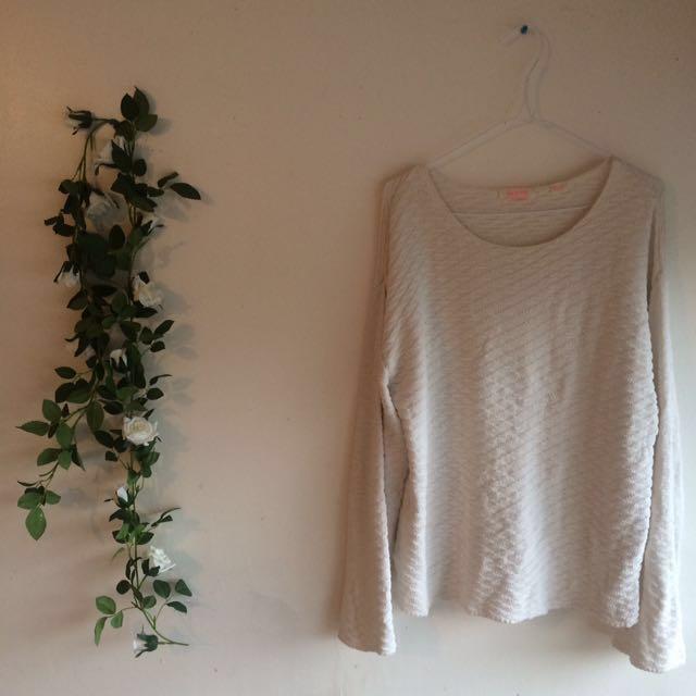 Sass & Bide bell sleeve knit