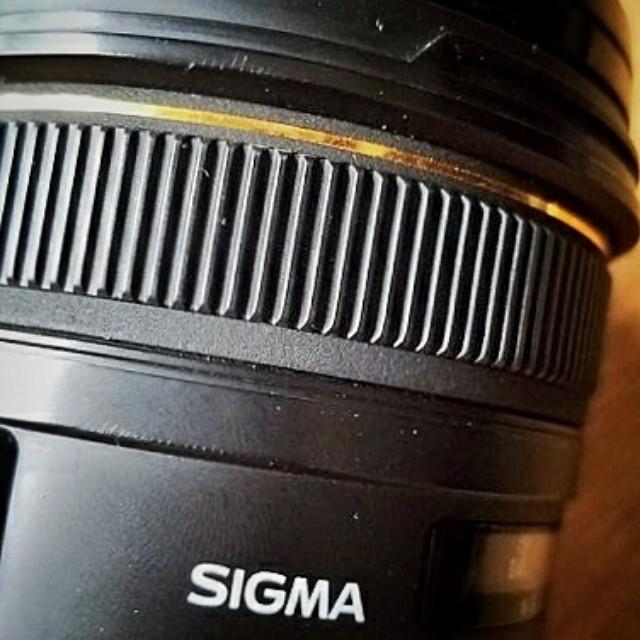 sigma 50 1.4  for canon