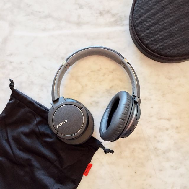 Sony Wireless Noise-Canceling Bluetooth Headphones