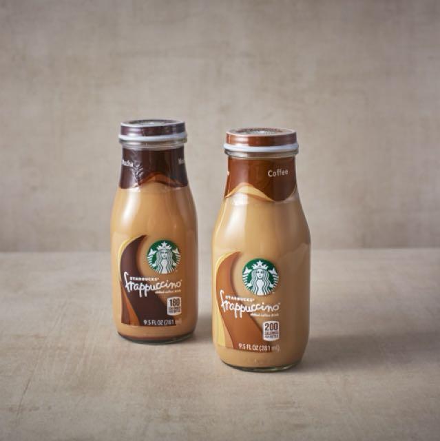 Starbucks frappe in a bottle
