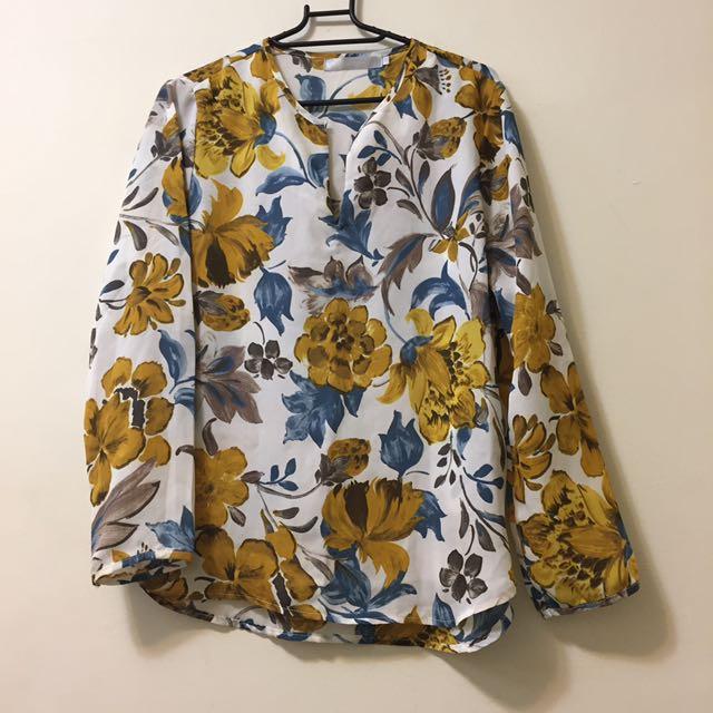 Starmimi 雪紡花襯衫