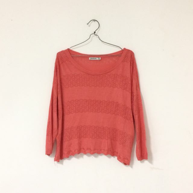 Stradivarius Oversized Boho Sweater