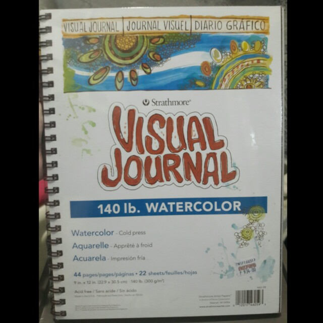 STRATHMORE visual watercolor journal