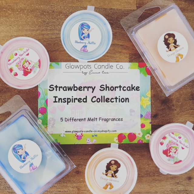 STRAWBERRY SHORTCAKE COLLECTION Soy Wax Melts