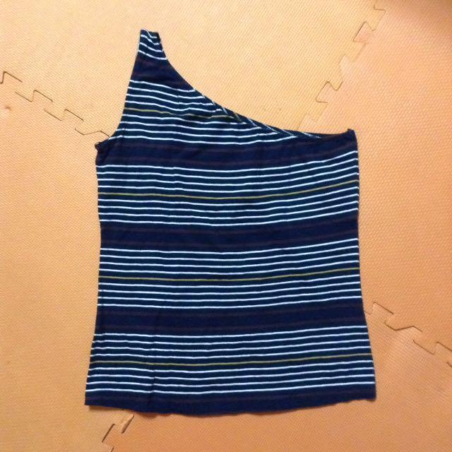 Striped venus cut top