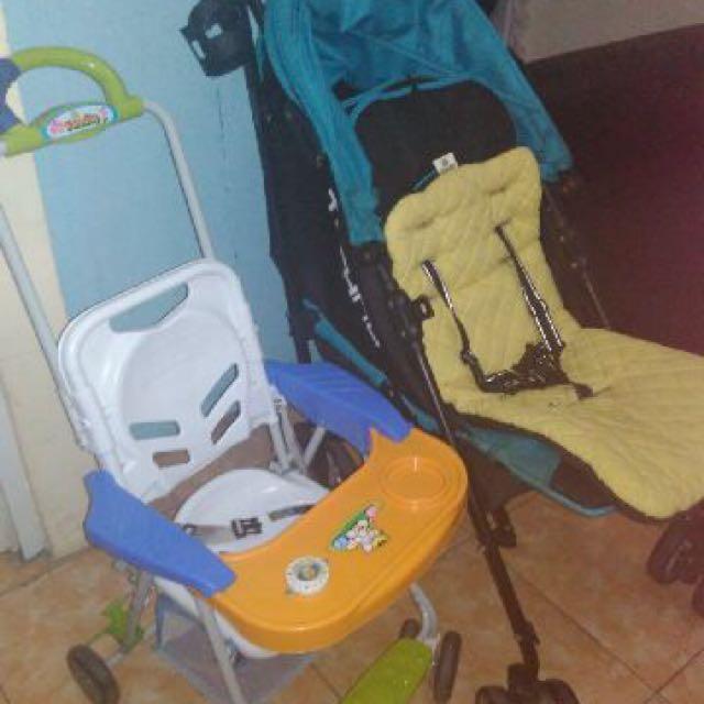 Strollers Bayi sepaket dapet 2