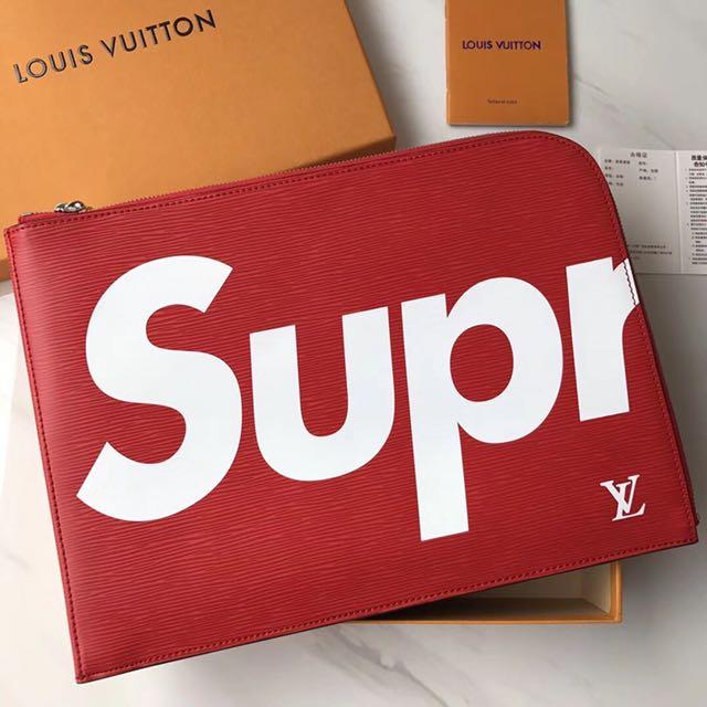 083c4f786feb Supreme X LV Clutch Bag