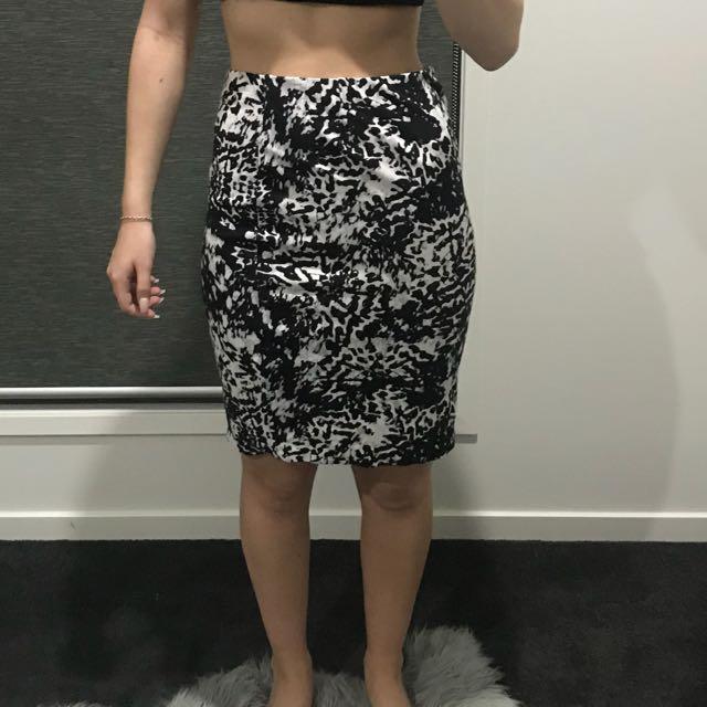 Target print skirt