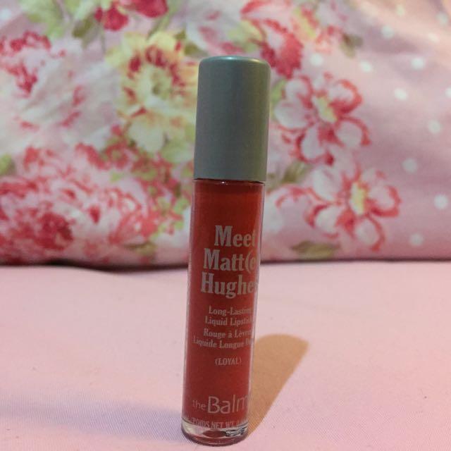 The Balm matte liquid lipstick