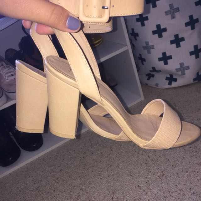 Therapy Block Heels