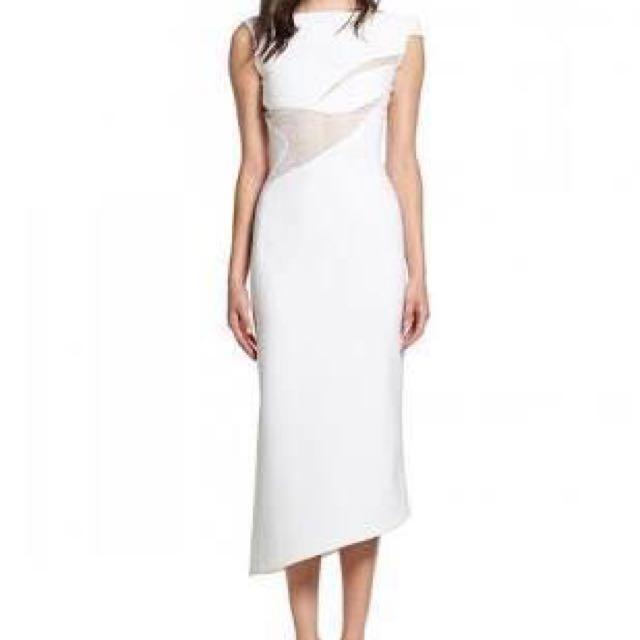 Toni Maticevski In Flight dress in white size 6