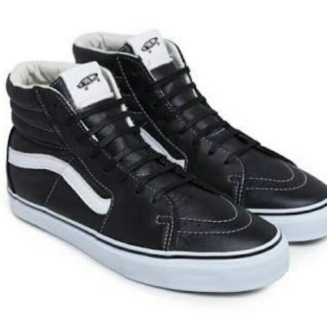 Vans Leather Sk8 Hi