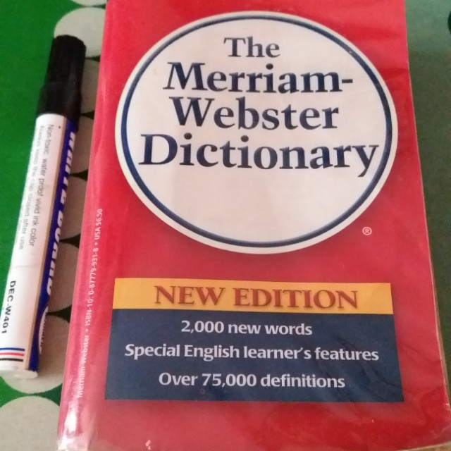 Webster Dictinary