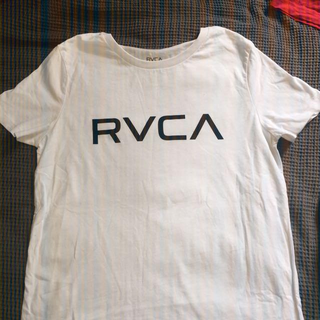 White RVCA Top