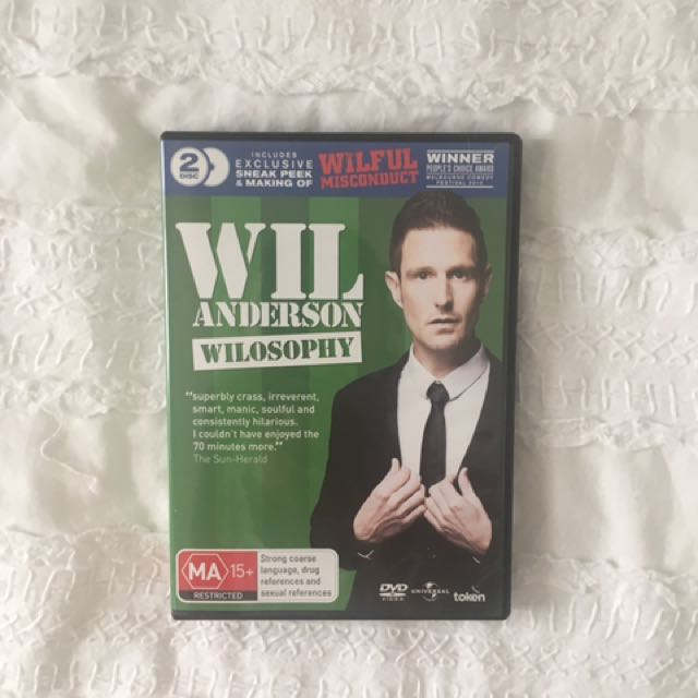 WIL ANDERSON LIVE