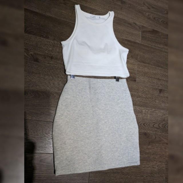 *PRICE DROP* Wilfred bandage skirt XS