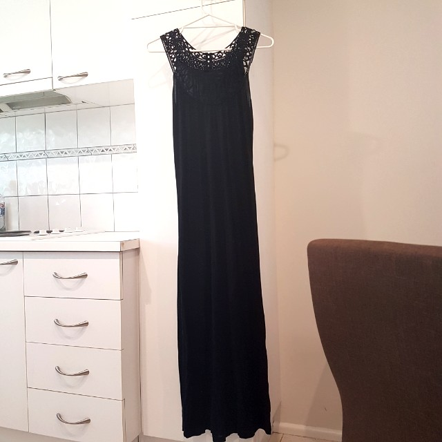 Witchery Neck Feature Maxi Dress