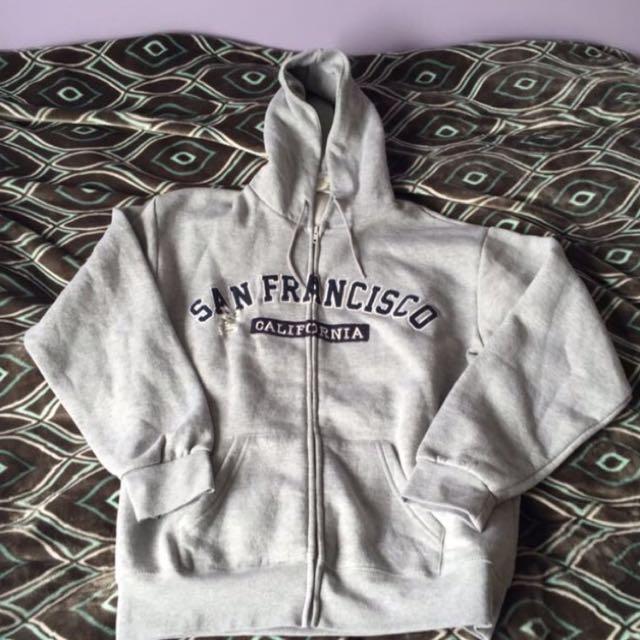 Womens winter zip up hooded jackets- san francisco warm hoodies