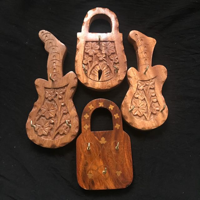 Wooden Key holder handmade