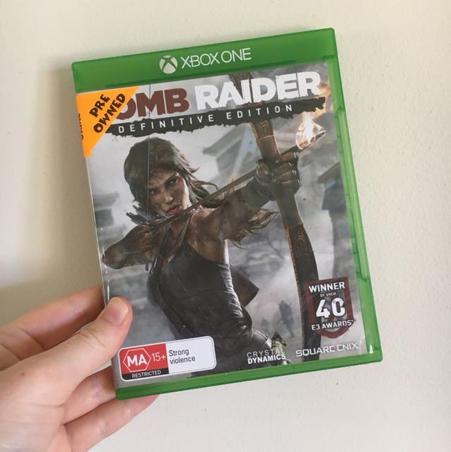 Xbox One Tomb Raider Definitive Edition Video Gaming Video