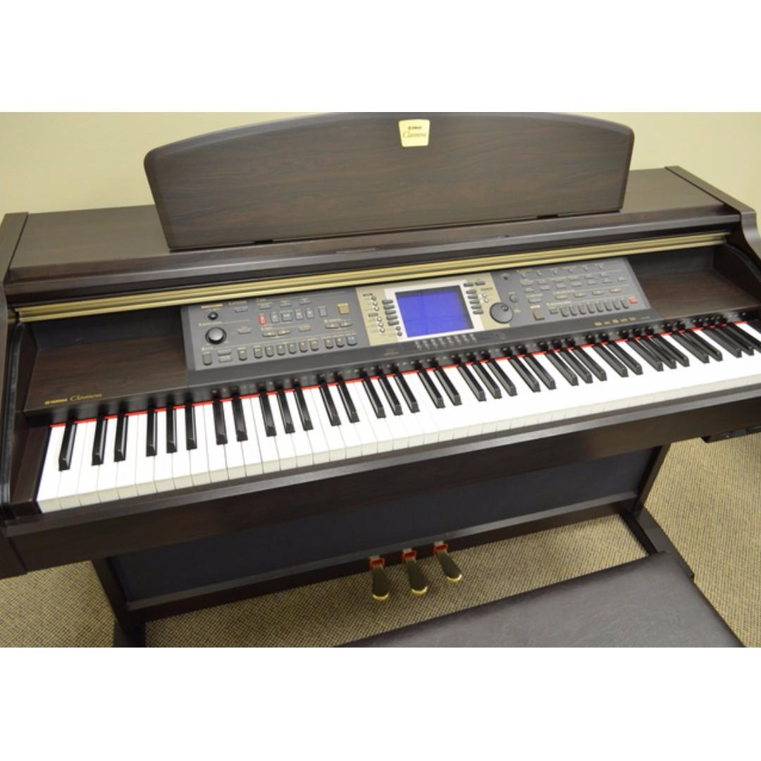 yamaha clavinova cvp 205 digital piano music media music rh sg carousell com Yamaha Clavinova CVP 601 Yamaha Clavinova CVP 601