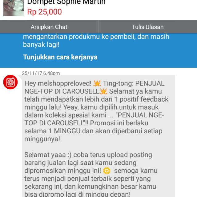 Yeayyy,,, Dpt Lg,,, Thank You Carousell
