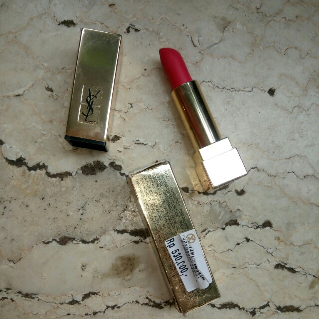 Ysl Rouge Pur Couture The mats 211 Decadent Pink