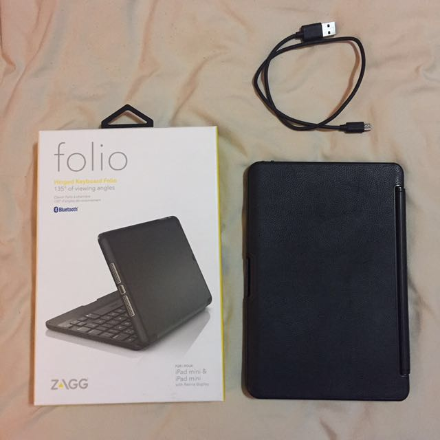 ZAGG IPad mini Bluetooth keyboard