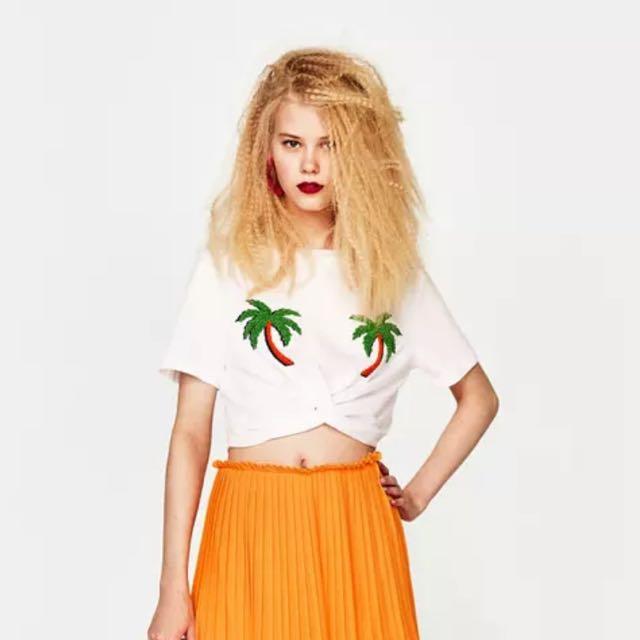 【出清活動】Zara 同款 短版上衣