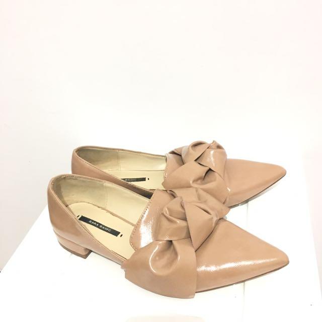 Zara bow shoes