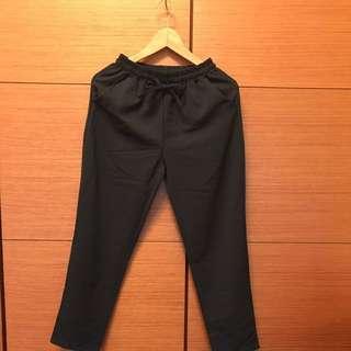 🚚 雪紡彈性 哈倫褲。#我的女裝可超取