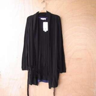 🚚 百搭黑色針織外套 #我的女裝可超取