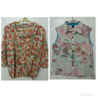 Bundle: Floral Tops