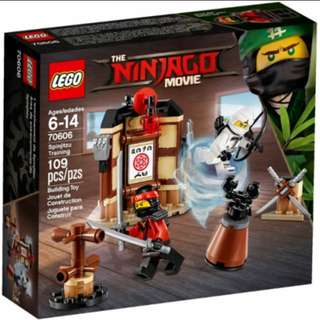 Lego Ninjago Movie 70606 Spinjitzu Training