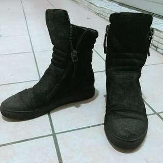 韓貨 個性靴子 板鞋