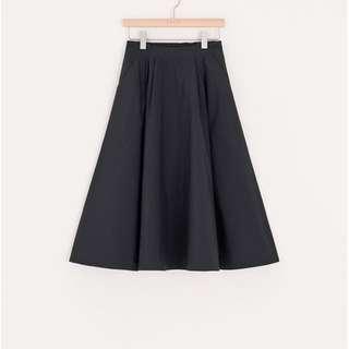 全新PAZZO 打褶中長裙 #我的女裝可超取