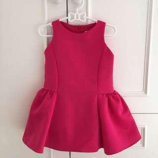 Kakapo Fuschia Dress for Girl Toddler