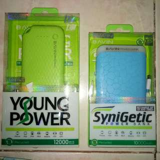 ORIGINAL BAVIN POWERBANKS