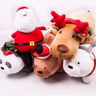 🚚 🎄聖誕交換禮物首選🎄Miniso 名創優品 webarebears 熊熊遇見你聖誕節特別款
