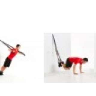 懸掛式健身訓練帶