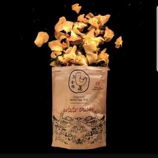 Golden Duck Gourmet Salted Egg Yolk Potato Chips 125G